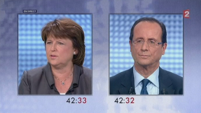 Séquences choisies - Face-à-face Aubry-Hollande