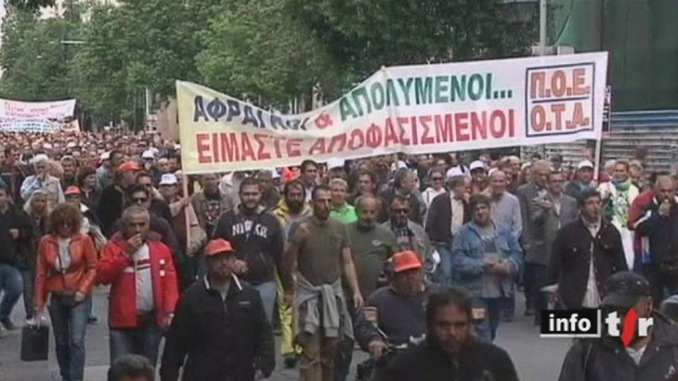 Mouvement des indignés: de Madrid à New York en passant par Francfort, ils sont des centaines de milliers à descendre dans la rue