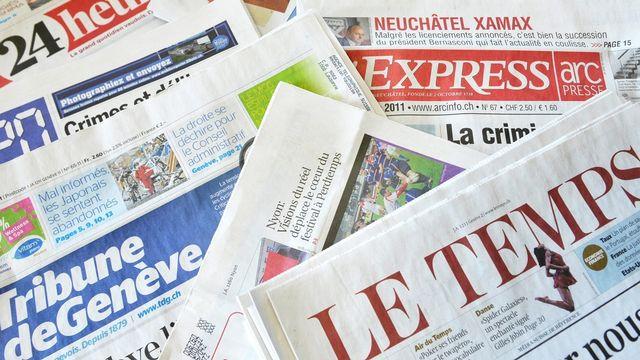 Les journaux s'adaptent à la demande des lecteurs/clients. [Dominic Favre - Keystone]