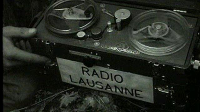 Un magnéto de Radio Lausanne [TSR]