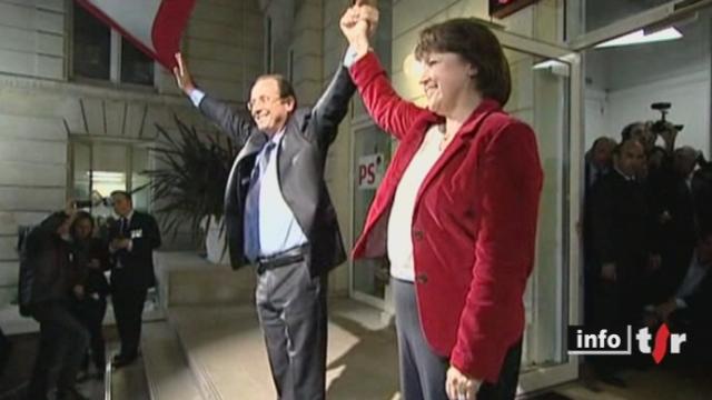 France/Primaire socialiste: François Hollande est lancé dans la course contre Nicolas Sarkozy avec plus de cinquante-six pour cent des suffrages