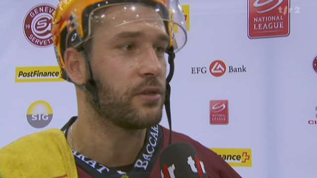Hockey / LNA (17e j.): Genève-Servette - Bienne (3-2 ap)