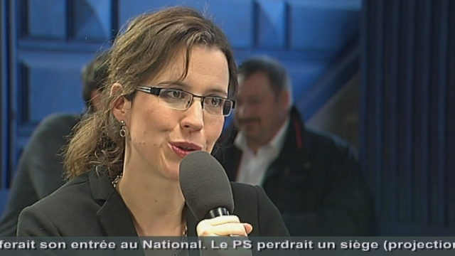 Christelle Luisier (présidente PLR/VD): « Je pense Guy Parmelin a bénéficié de l'effet du décès de Jean-Claude Mermoud»