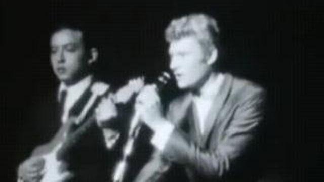Johnny Hallyday en 1963 [TSR 1963]