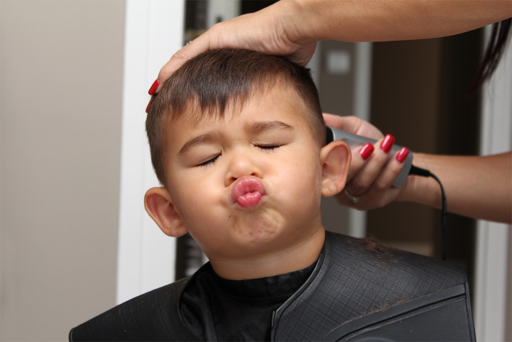 Les coiffures des enfants et leur description