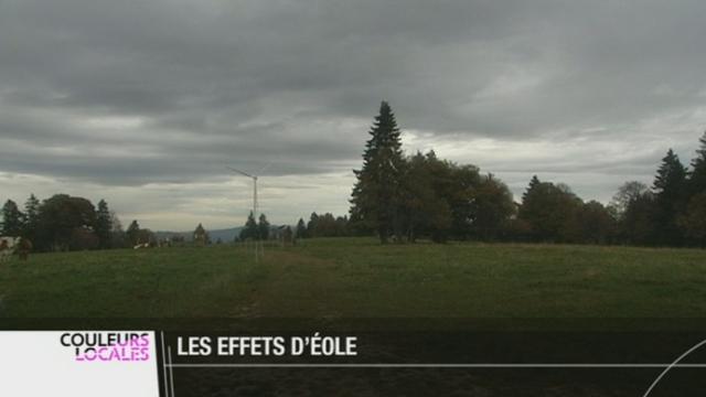 BE: le parc éolien du Mont-Soleil constitue un exemple pour son intégration dans le paysage