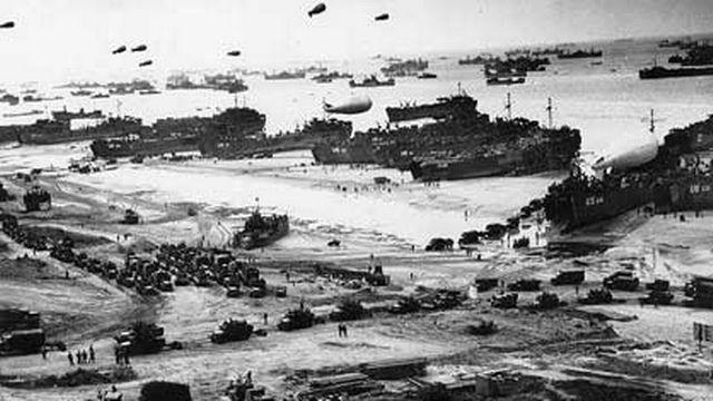 Le Débarquement en Normandie, le 6 juin 1944. (wikipédia) [Wikipedia]