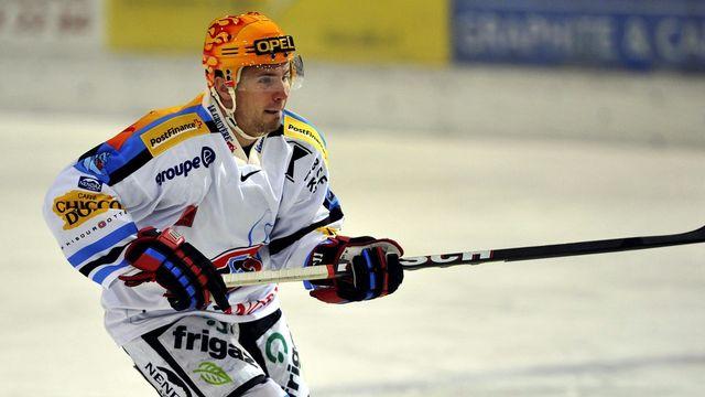 Andrei Bykov est le meilleur compteur de son équipe après 19 matches de championnat. [SIGI TISCHLER  - Keystone]