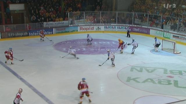 Hockey / LNA (18e j.): Fribourg-Gottéron - Langnau (3-2) + itw Sandy Jeannin (Fribourg-Gottéron)