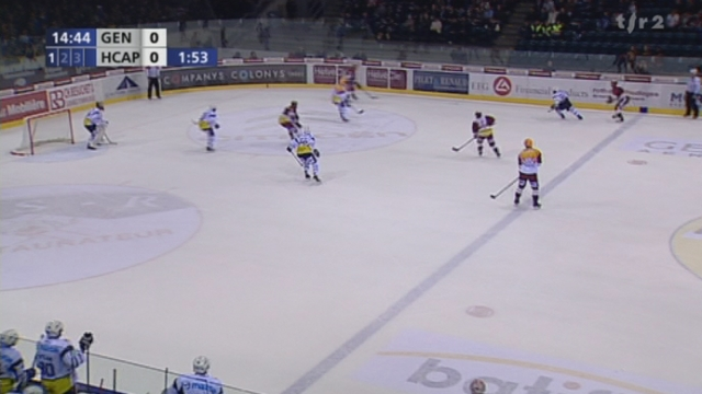 Hockey / LNA (18e j.): Genève-Servette - Ambri (2-3) + itw Paul Savary (attaquant Genève-Servette)