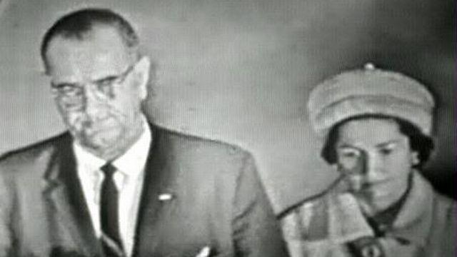 Lyndon Johnson après la mort de JFK [TSR 1963]