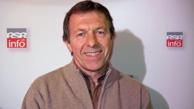 Edmond Isoz, directeur de la Swiss Football League. [Rino Muccigrosso - RTS]