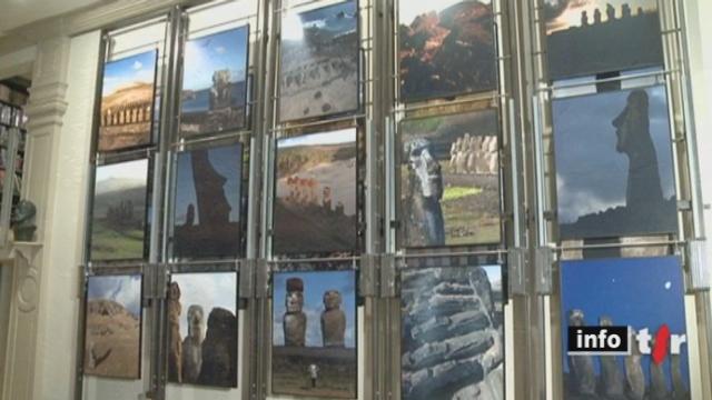 Le Minimag : en ce moment se tient à Yverdon-les-Bains (VD) une exposition consacrée à l'île de Pâques et ses mystères