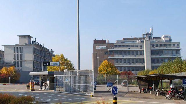 Le site de la catastrophe de Schweizerhalle appartient aujourd'hui à Clariant. [Gaël Klein - RTS]
