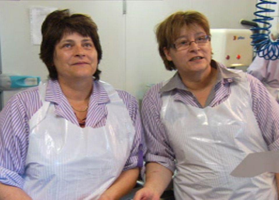 Les soeurs Brigitte et Maggy