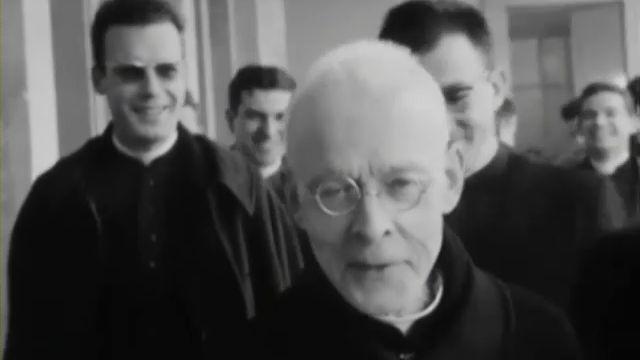 Le cardinal Charles Journet [TSR 1965]