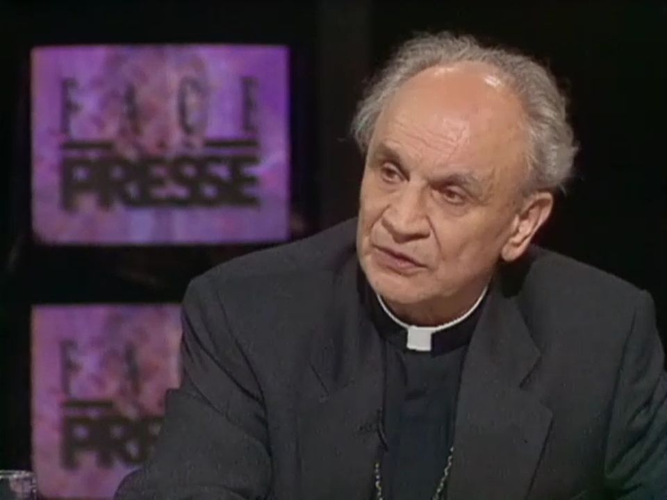 Mgr Pierre Mamie [TSR 1993]