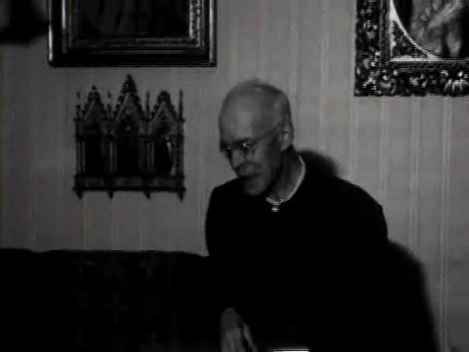 Le cardinal Charles Journet [TSR 1968]