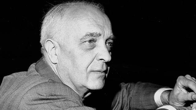 Le pianiste et compositeur français Robert Casadesus. [Roger-Viollet / AFP]