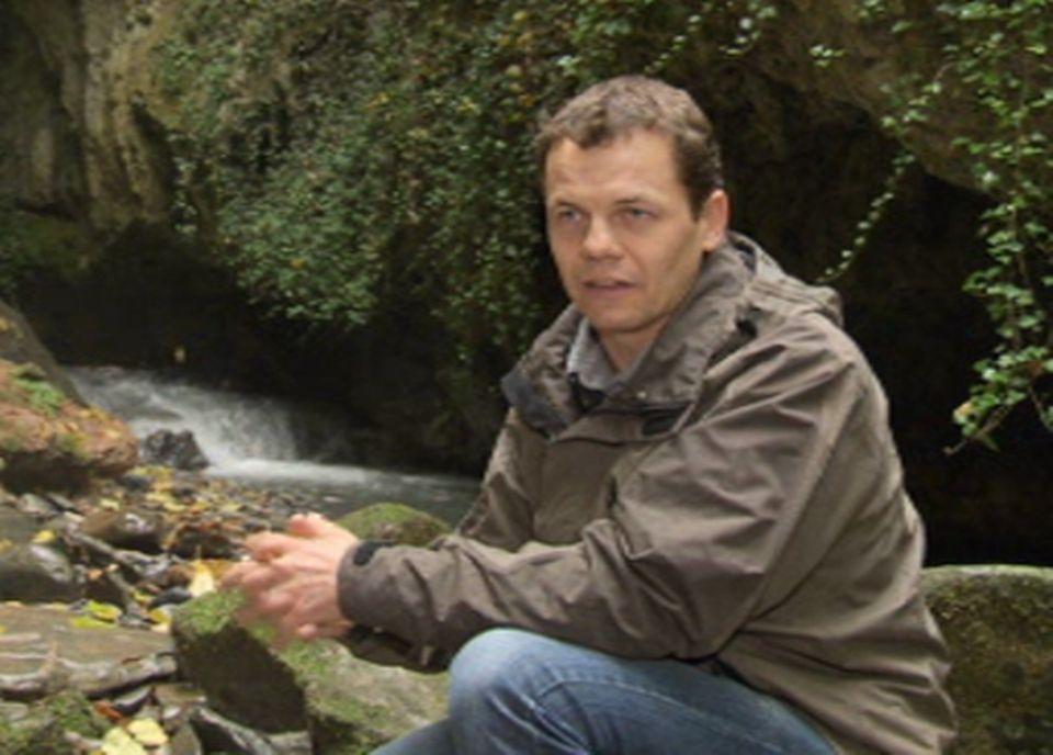 Christophe Badertscher du Bureau d'Etudes Géologiques SA