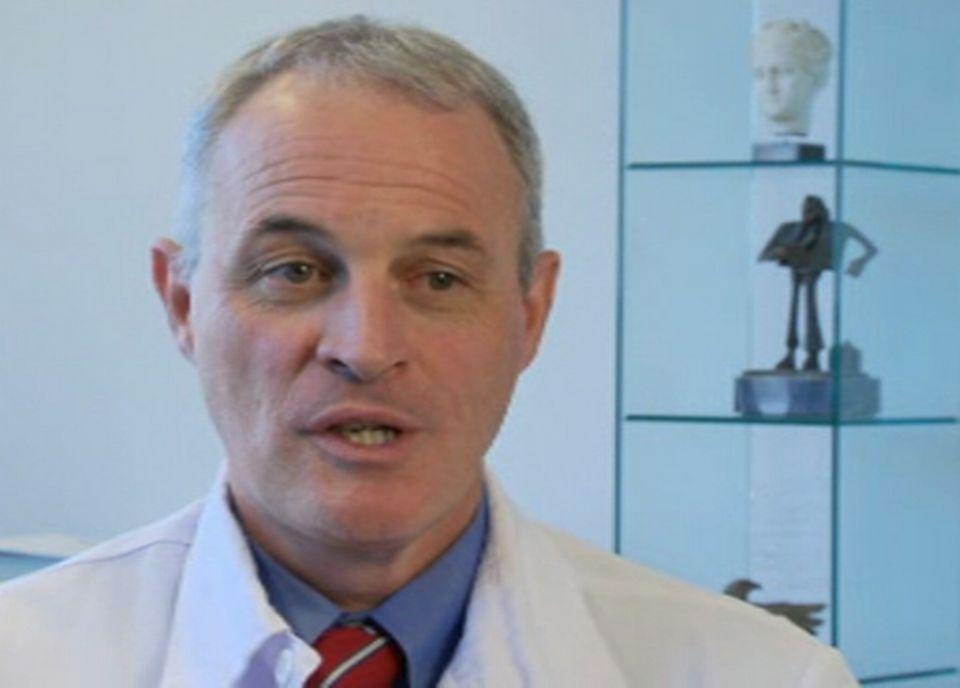 Didier Pittet, professeur de médecine et d'épidémiologie aux HUG