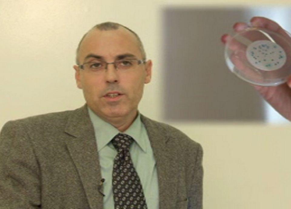 Patrick Edder, chimiste cantonal de Genève