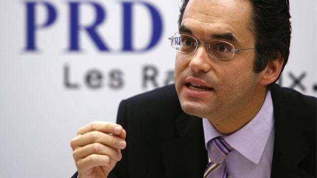 Olivier Feller, nouveau conseiller national PLR. [Alessandro della Valle - Keystone]