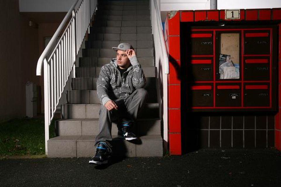 Le rappeur français Orelsan. [http://www.myspace.com/orelsan]