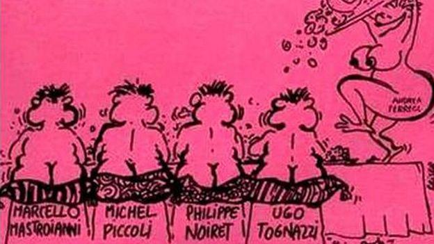 """La grande bouffe"" de Marco Ferreri"