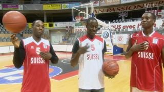 Le Mag: les trois frères Louissaint, joueurs de basketball