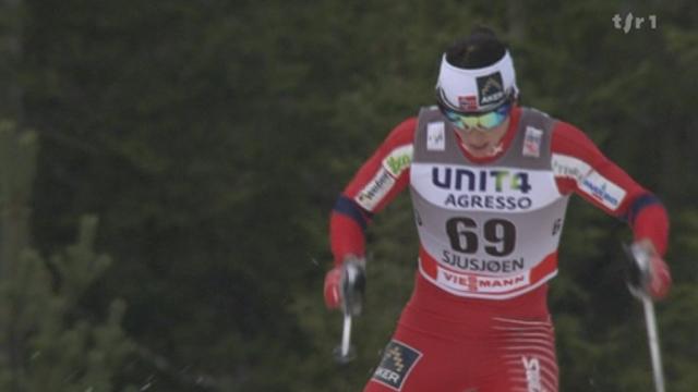 Ski nordique / Coupe du monde à Sjusjoen: avec son 48e succès en Coupe du monde, Marit Björgen est l'athlète la plus titrée du ski nordique