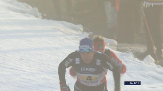 Ski de fond / Coupe du monde à Sjusjoen: l'équipe suisse termine à la 8e place lors du 4x10 km libre, les Norvégiens l'emportent