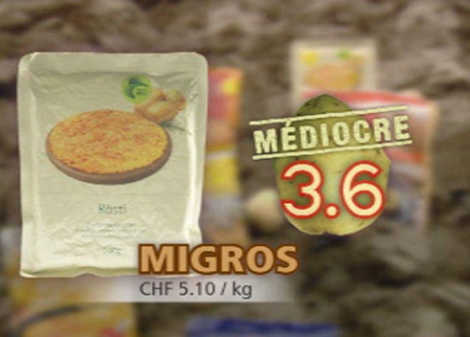 Le Rösti Bio Migros