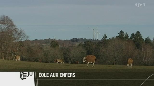 JU : le petit village des Enfers a décidé d'interdire l'implantation d'éoliennes sur son territoire