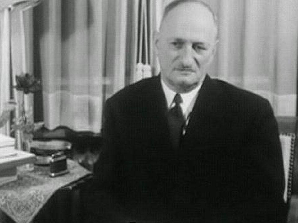 Paul Chaudet démissionne [TSR 1966]