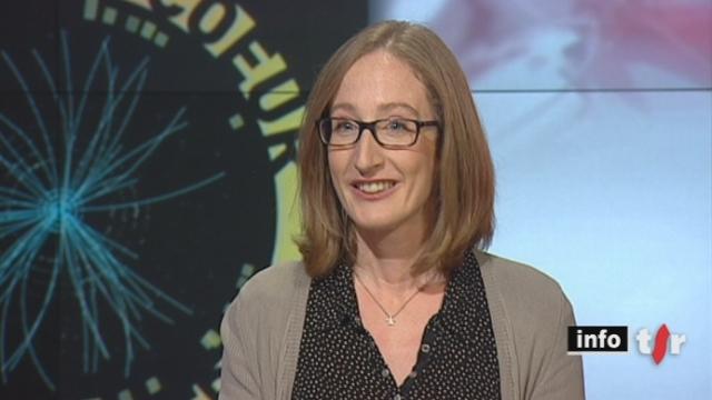 L'invitée culturelle: Emma Sanders, auteur et responsable des visites au CERN