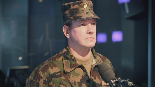 L'invité du jour: Lieutenant-colonel Karl-Heinz Inäbnit