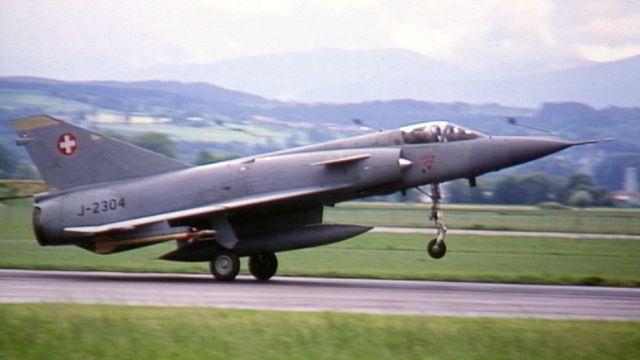 Mirage IIIS suisse [TSR]
