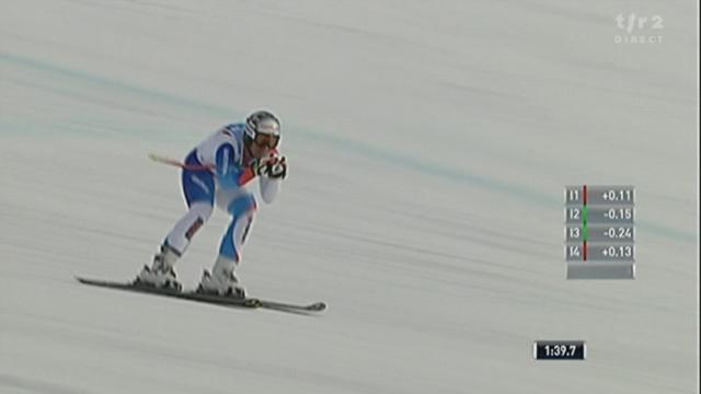 Ski alpin / Descente messieurs Lake Louise: Malgré une grosse erreur, Beat Feuz réalise un temps canon (2e temps provisoire)