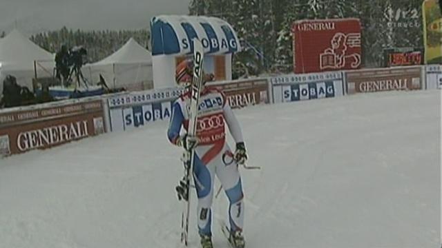 Ski Alpin/Descente messieurs (Lake Louise): Didier Cuche l'emporte devant le Suisse Beat Feuz et interview de Didier Cuche
