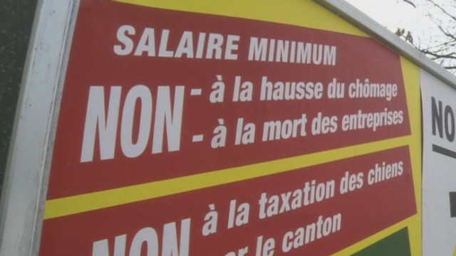 Genève refuse l'introduction d'un salaire minimum