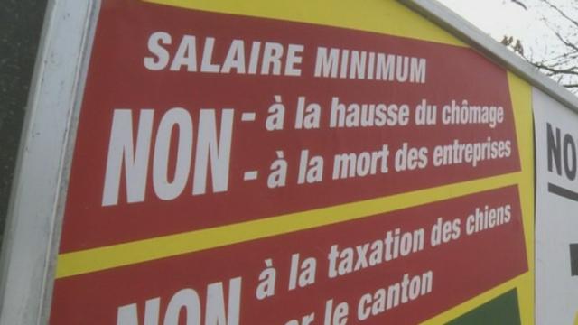 Genève refuse l'introduction d'un salaire minimum