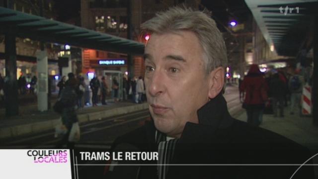 GE/Changement du réseau des TPG: depuis dimanche, il n'y a plus que trois lignes de tram contre sept auparavant
