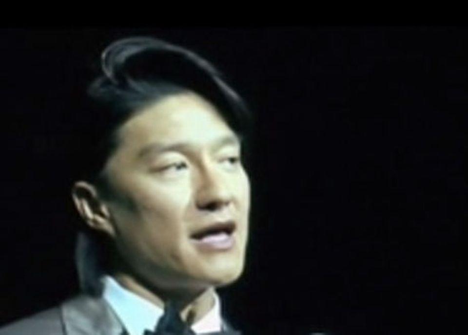Dennis Wong, fondateur de YOR Health, lors de la conférence 2010 de la société. [RTS]