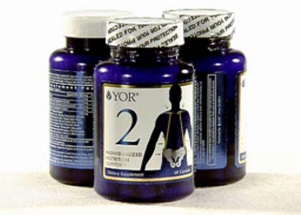 Des produits vendus par YOR Health. [RTS]