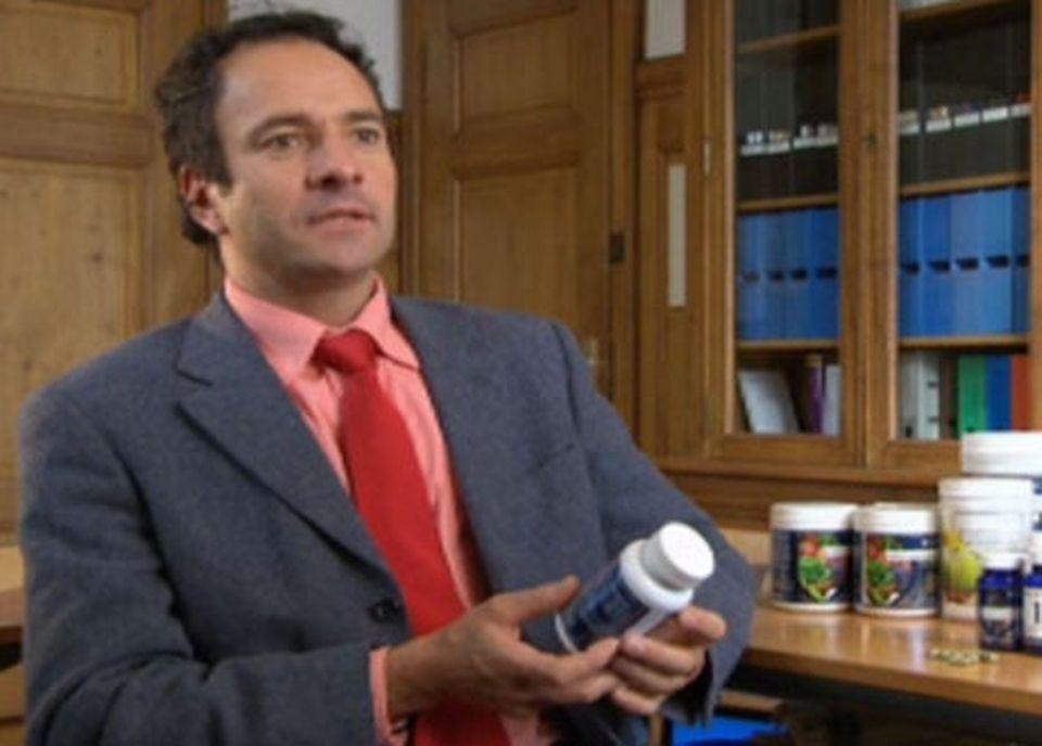 Pierre Bonhôte, chimiste cantonal, Neuchâtel. [RTS]