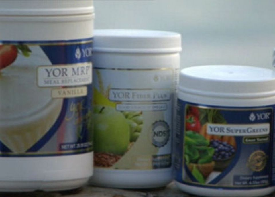 Des compléments alimentaires vendus par YOR Health. [RTS]
