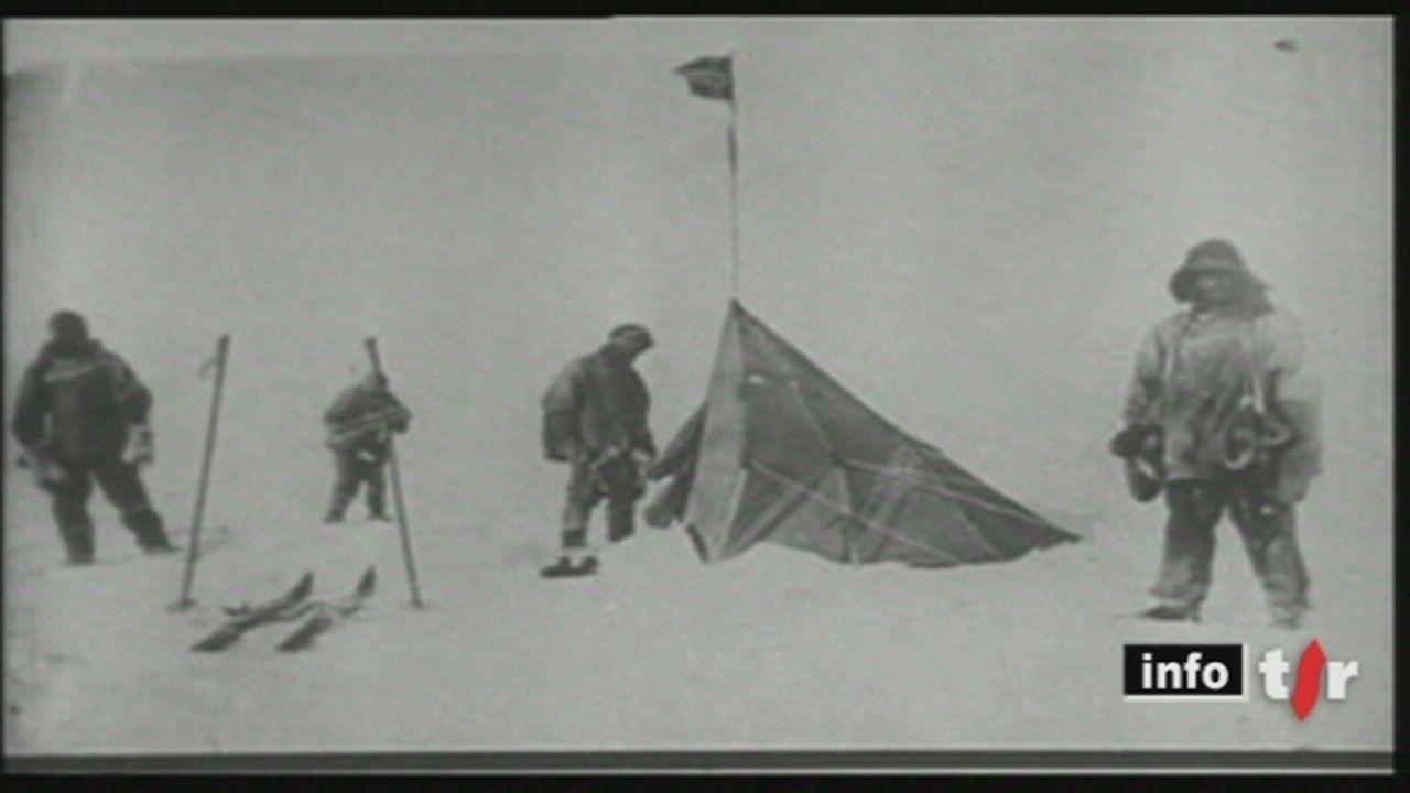On a fêté jeudi le centenaire de l'arrivée d'Amundsen au Pôle Sud