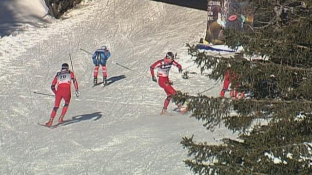 Ski Nordique/Rogla: Dario Cologna remporte le sprint messieurs