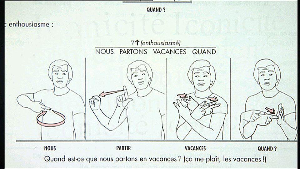Top Signes - la Langue des signes expliquée aux nuls - RTS.ch PX05